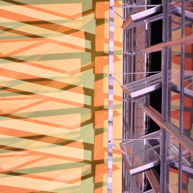 Bauhaus Detail Farbe Buether