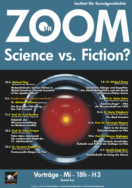 ZOOM Science vs Fiction 2016 Wissensvermittlung Buether