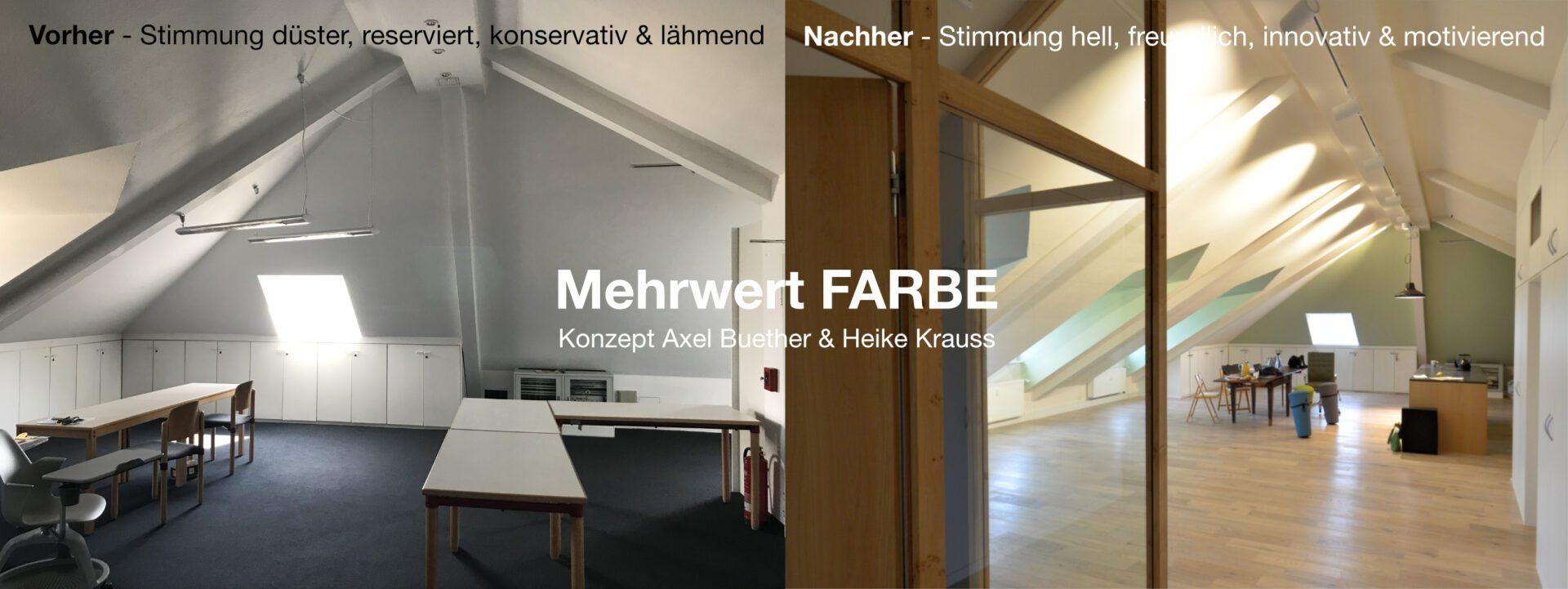 Mehrwert Farbe in Architektur und Interior Design ...